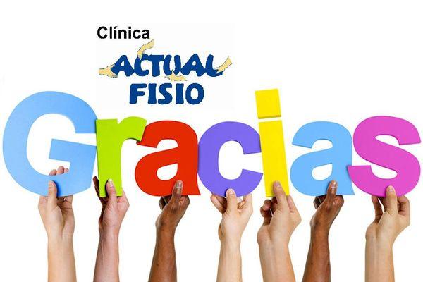 Actualfisio os da las gracias: ¡6.000 pacientes ya confian en nosotros!