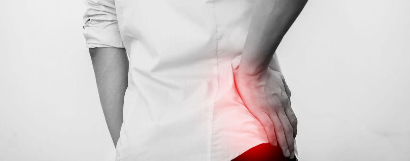 Causas que provocan dolor en la cadera: Trocanteritis