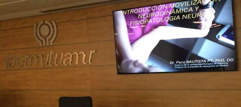 Cuarta formación de fisioterapeutas Ibermutuamur