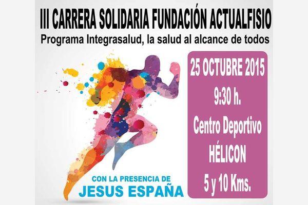III Carrera solidaria Fundación Actualfisio