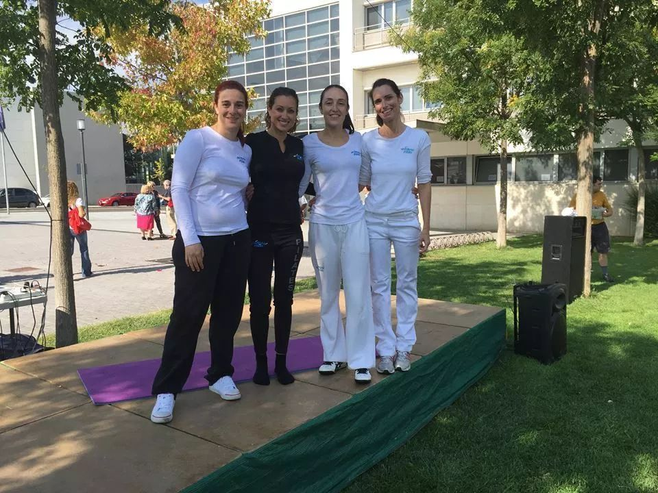 Master Class de Pilates en el Centro de Actividades Educativas