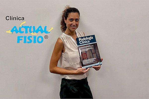 Nuestra directora, la Dra. Cristina García participa en la elaboración de un artículo científico para la revista Podología Clínica