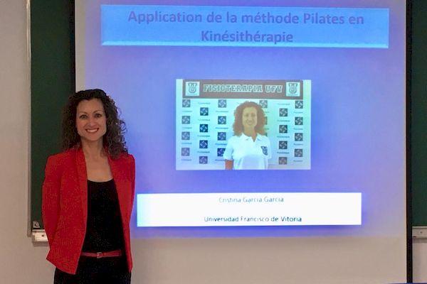 Asistimos a la Semana Internacional de Fisioterapia en París