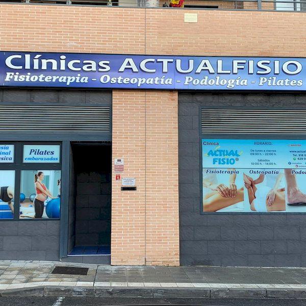 fachada clinica actualfisio valdemoro fisioterapia osteopatia pilates podologia diatermia plantillas